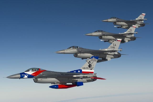 USAF F-16 Caslav Sky Avenger 2018