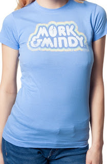 Mork & Mindy Distressed Tee Shirt for Women