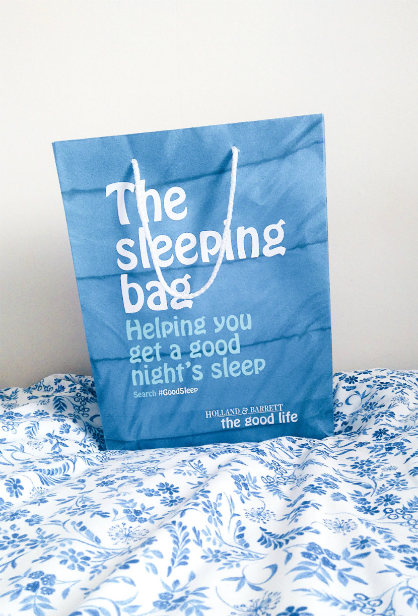 Holland and Barrett Sleeping Bag