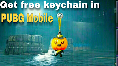 Get free keychains for bag in PUBG Mobile