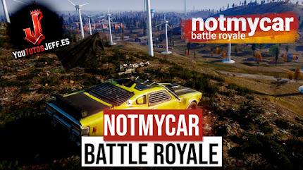 Nuevo Battle Royale de Coches, Descargar Notmycar Ultima Versión
