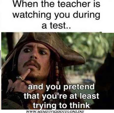 Teacher During Test