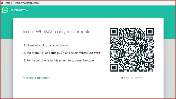 Situs WhatsApp Web