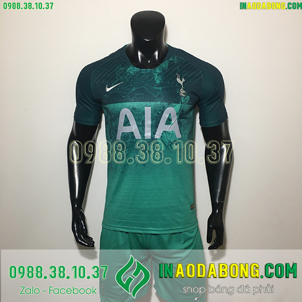 Áo bóng đá câu lạc bộ Tottenham màu xanh