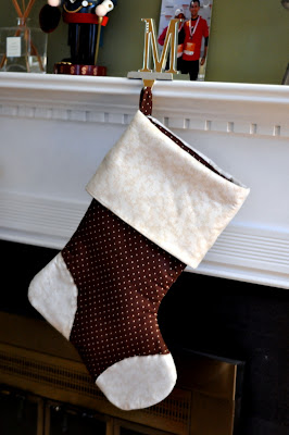 Michelle's Christmas Stocking - Photo by Taste As You Go