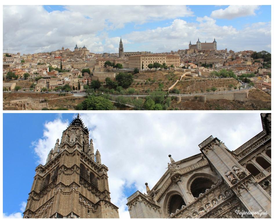 Panorámica y Catedral de Toledo