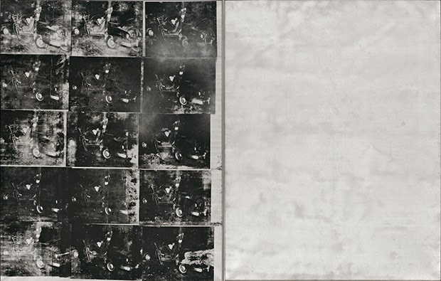 Andy Warhol Silver Car Crash (Double Disaster)