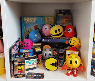 A small selection of the Pac-Man stuff in my ever-growing collection