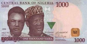 Nijerya Nairası Günlük Döviz Fiyatları