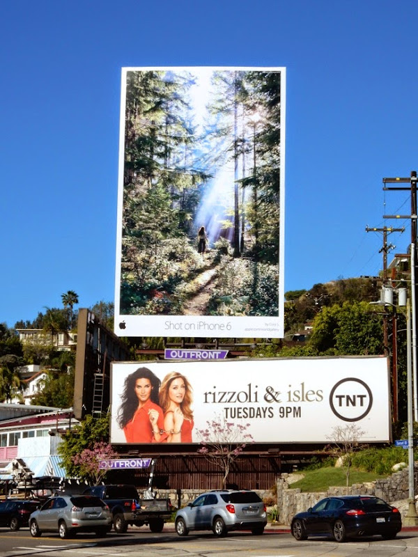Shot on iPhone 6 Cory S billboard