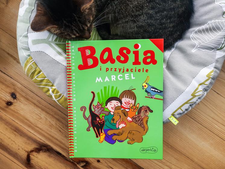 Basia i przyjaciele. Marcel, HarperKids, otymze.pl