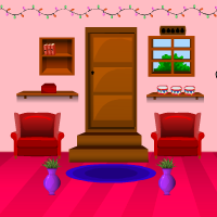 Games4Escape Pink Christmas Room Escape 2
