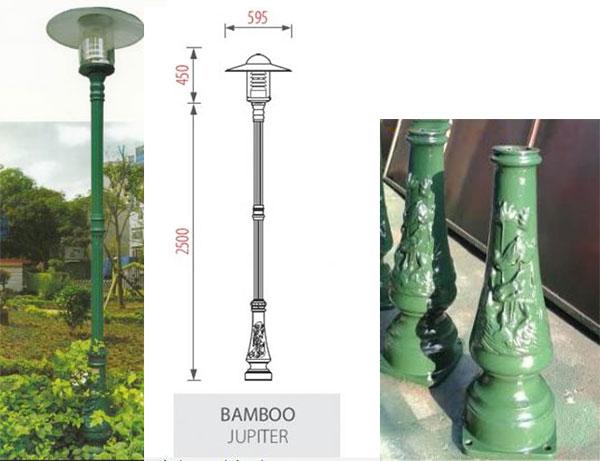 Kết quả hình ảnh cho cột đèn công viên bamboo nc lighting