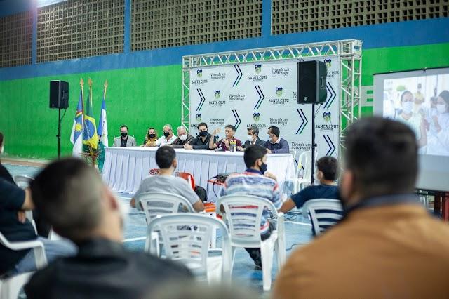 Prefeitura de Santa Cruz realiza última Audiência Pública para elaboração da LOA e PPA
