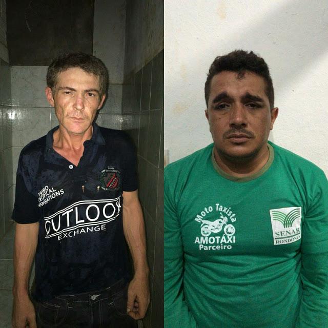 Dois elementos são presos tentando roubar moto no bairro João Francisco Clímaco
