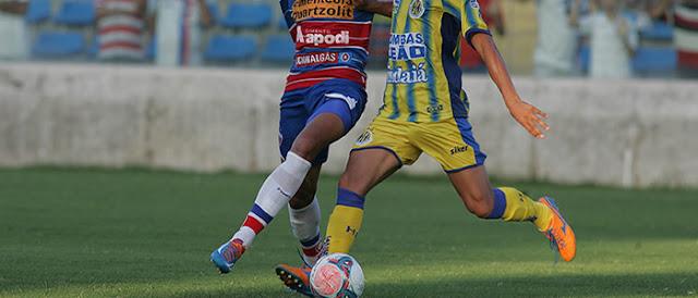 Horizonte vence o Fortaleza e se recupera na Taça Fares Lopes.