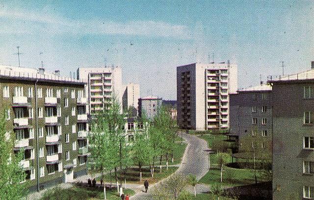 1970-е годы. Югла. Silciema ielа