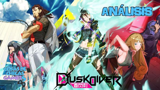 Análisis Dusk Diver para PS4