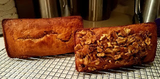 Whole Wheat Cream Cheese Banana Bread, with or with out chocolate chips!