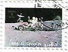 Selo Dirigindo o Rover Lunar