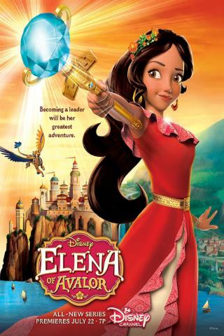 Elena of Avalor [2016] [DVDR] [NTSC] [Latino]