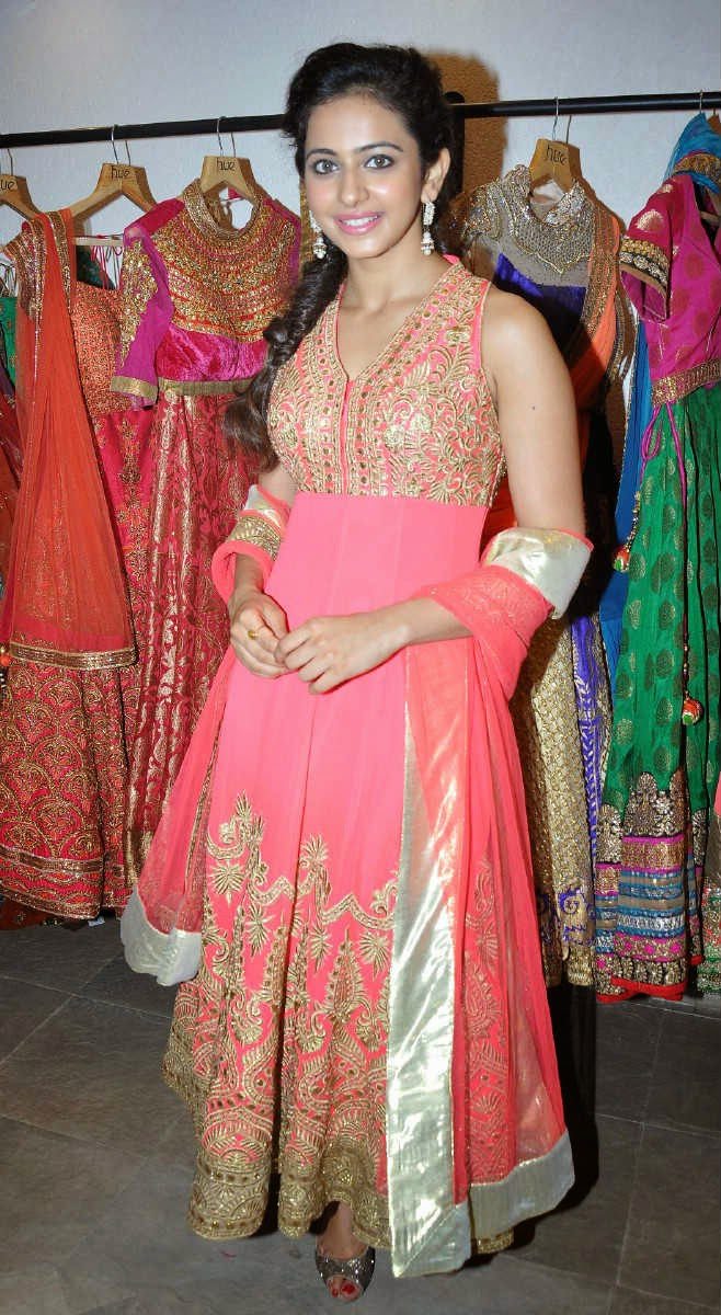Rakul Preet Singh Photos In Pink Dress At Spring Summer