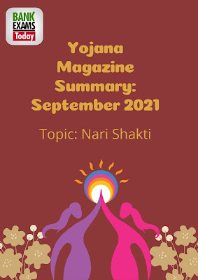 Yojana Magazine Summary: September 2021