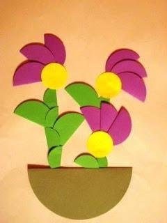 أفكار لعمل أنشطة فنية لأطفال الحضانة 11231850_16058590363