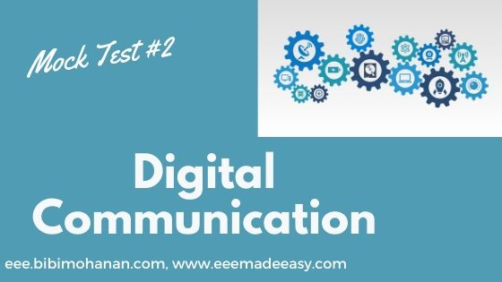 Set 2- Polytechnic lecturer Mock Test  Digital Communication quiz 2