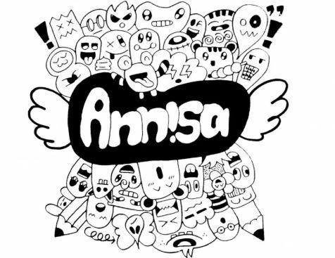 Gambar tulisan nama annisa