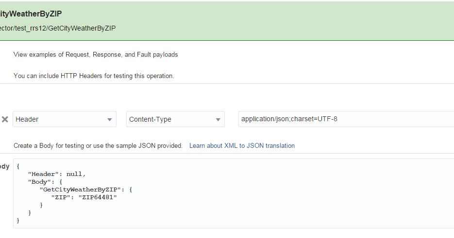 rsantrod's Blog: MCS: Calling SOAP connector bypassing XML