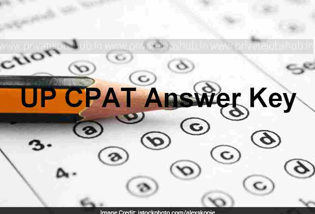 UP CPAT Answer Key