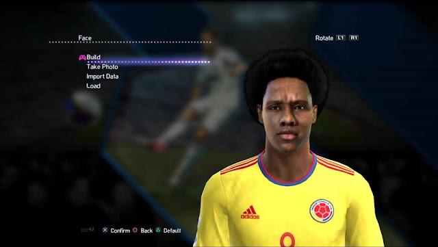Yairo Moreno Face and Hair For PES 2013