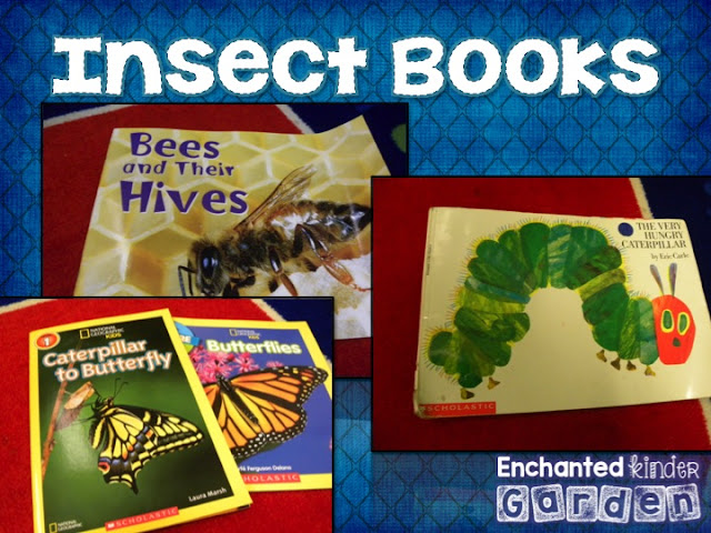 Insect books for science unit