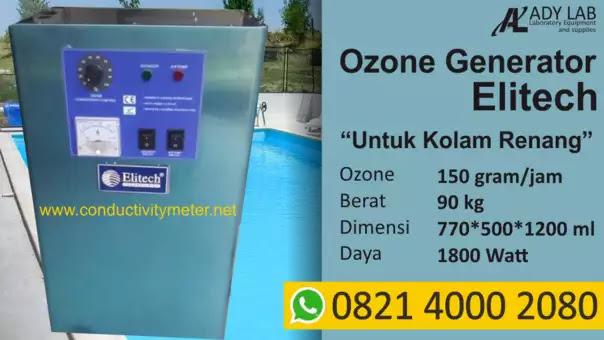 jual ozone generator murah kolam renang
