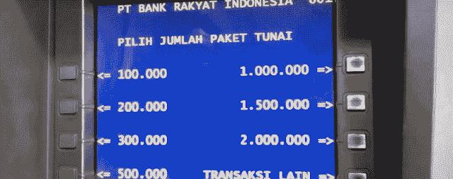 Cara Mengambil Uang di ATM BRI