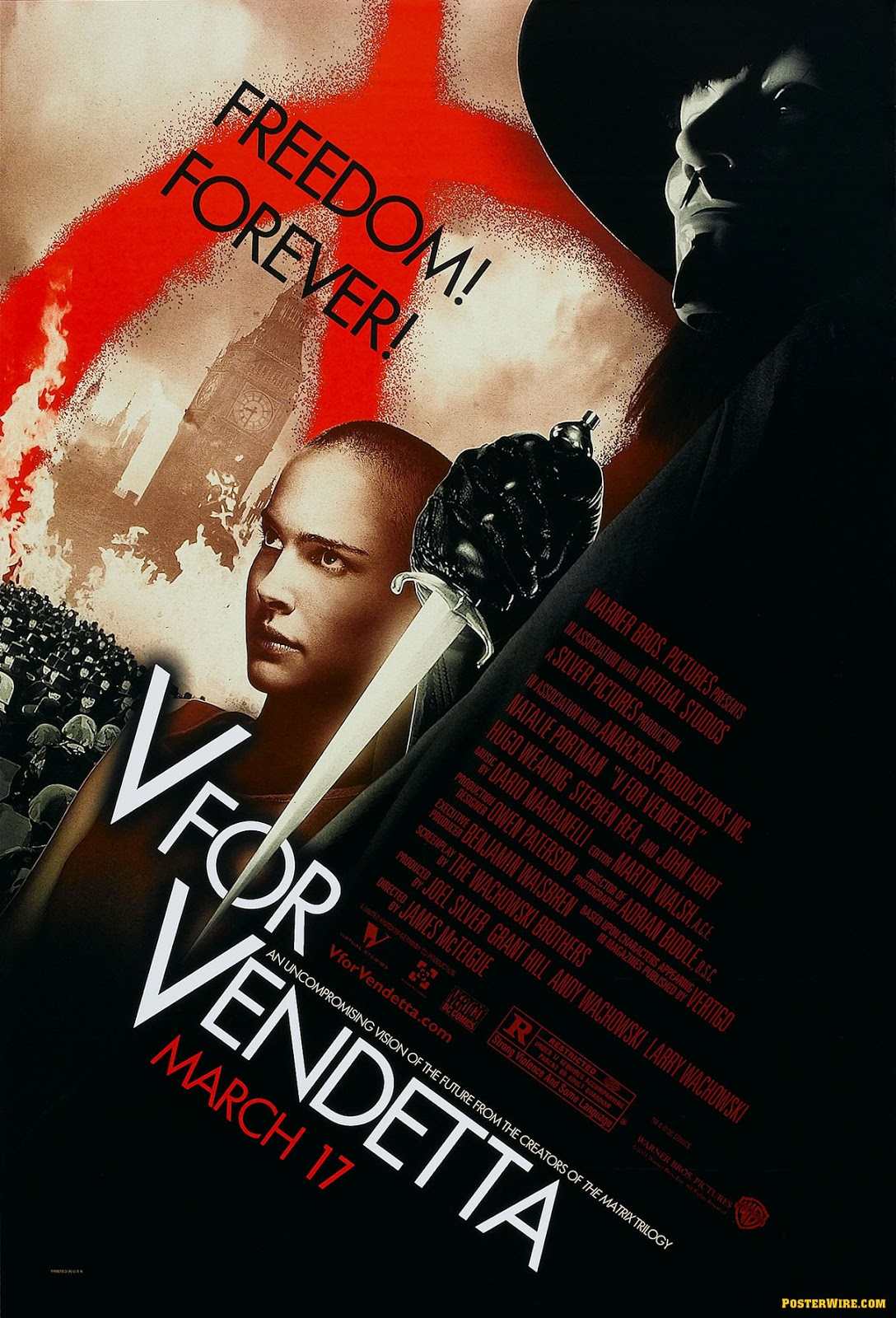 V for Vendetta (2006) ταινιες online seires oipeirates greek subs