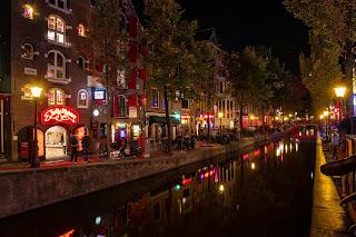 Matt Rakowski Amsterdam Red Light District