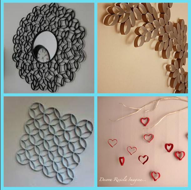 Como decorar con rollos de papel higienico decoraci n - Decoracion con rollos de papel higienico ...
