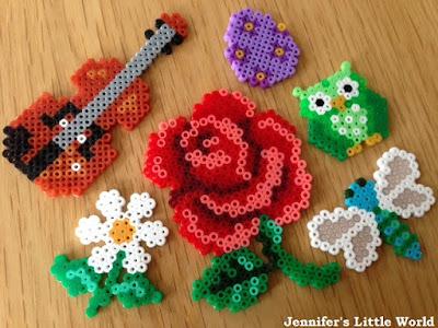 Mini Hama bead projects