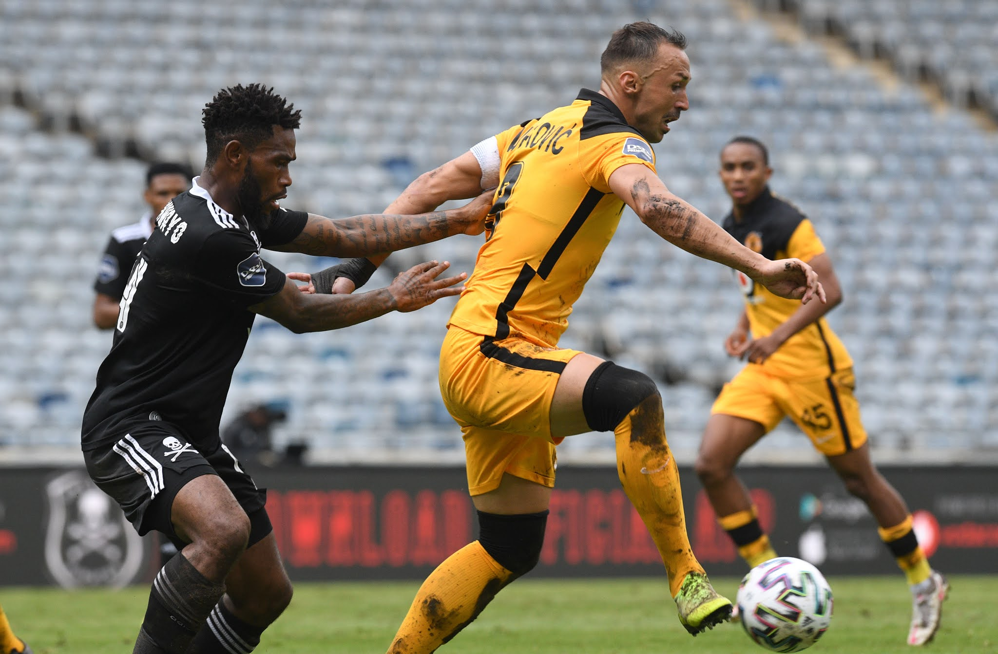 Samir Nurkovic will aim to inspire Kaizer Chiefs to victory over crosstown rivals Orlando Pirates