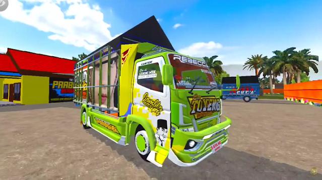 MOD Truck Canter Toyeng Mas Erda Super Mbois Car Terbaru