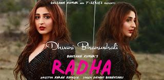 Radha Lyrics in English – Dhvani Bhanushali