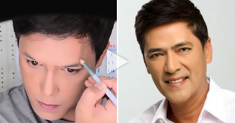 Makeup Transformation: Paolo Ballesteros as Bossing Vic Sotto