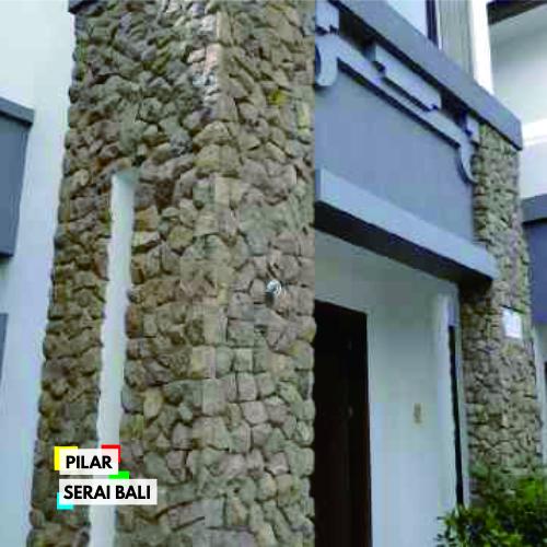 jual batu alam serai bali untuk pilar