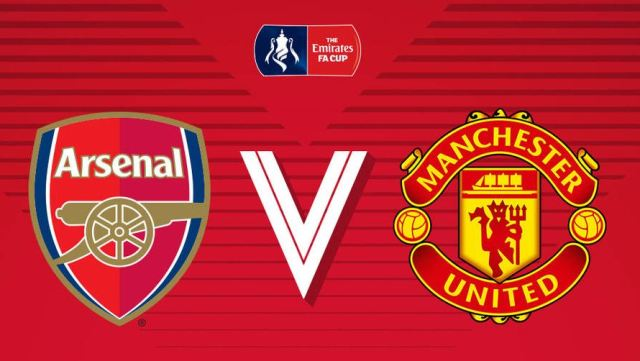 Bigmatch Babak 32 Besar Piala FA: Arsenal vs Manchester United