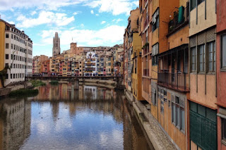 Picturesque houses of Girona