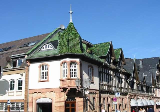 Bad Homburg Gebäude Innenstadt