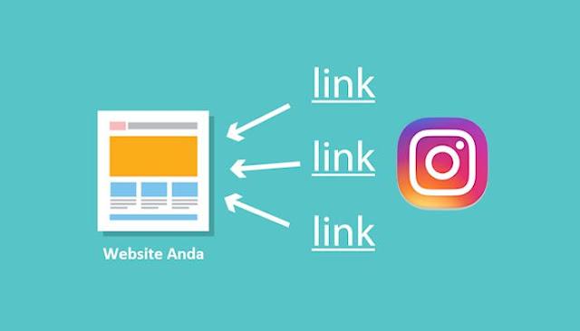 2 Cara Mendapatkan Backlink Dari Instagram