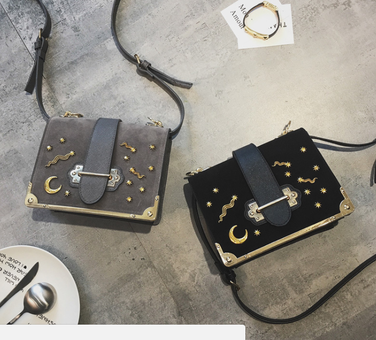 8b8de2f3773b ... Prada Cahier Astrology bag, but never in my life could I afford it.  I've seen a couple straight up knock-offs with the logo- which I wouldn't  get.